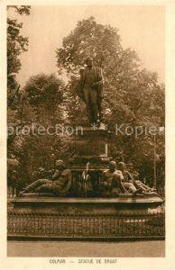 AK / Ansichtskarte Colmar_Haut_Rhin_Elsass Statue de Bruat Statue Colmar_Haut_Rhin_Elsass
