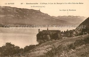 AK / Ansichtskarte Hautecombe Kloster Lac du Bourget Hautecombe