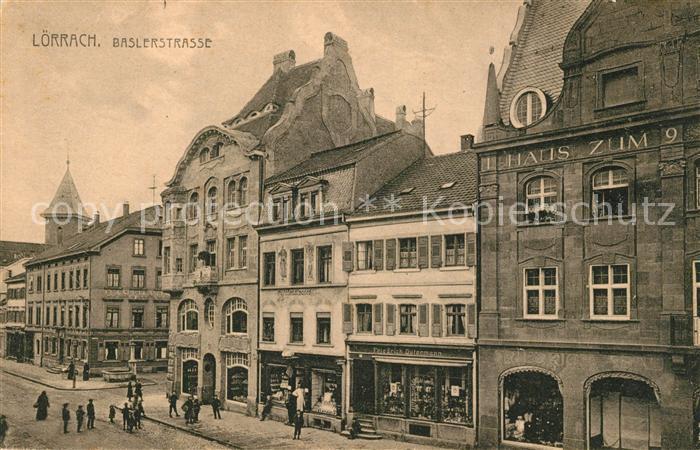 AK / Ansichtskarte Loerrach Baslerstrasse Loerrach
