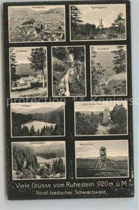 AK / Ansichtskarte Freudenstadt Ottenhoefen Hornisgrinde Ruhestein Wasserfall Wildsee Prof Eutin Grab Allerheiligen Schliffkopf Freudenstadt