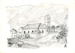 AK / Ansichtskarte Soultzmatt Eglise avec son clocher  Soultzmatt