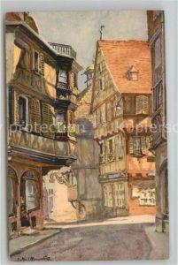 AK / Ansichtskarte Colmar_Haut_Rhin_Elsass Rue des Marchands Colmar_Haut_Rhin_Elsass