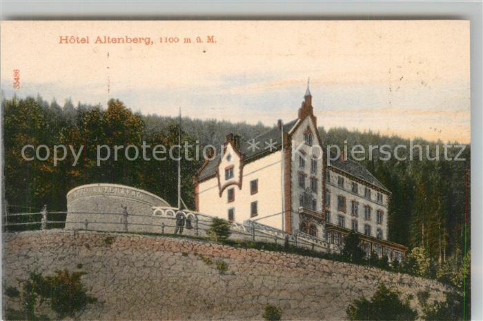 AK / Ansichtskarte Altenberg_Elsass Hotel Altenberg Altenberg Elsass