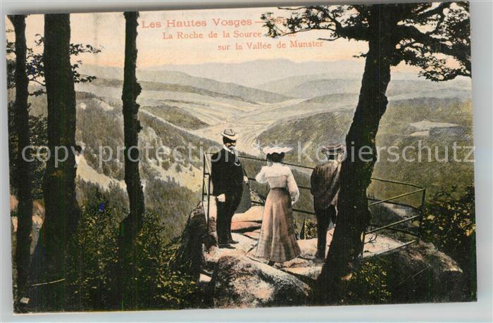 AK / Ansichtskarte Vosges_Vogesen_Region La Roche de la Source sur la Vallee de Munster Vosges_Vogesen_Region