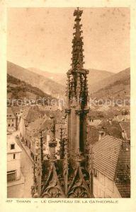 AK / Ansichtskarte Thann_Haut_Rhin_Elsass Le Chapiteau de la Cathedrale Thann_Haut_Rhin_Elsass