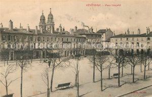AK / Ansichtskarte Luneville Place Leopold Luneville