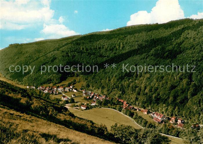 AK / Ansichtskarte Sieber Blick vom Breitentalskopf Sieber