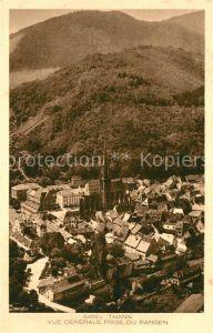 AK / Ansichtskarte Thann_Haut_Rhin_Elsass Vue generale prise du Rangen Thann_Haut_Rhin_Elsass