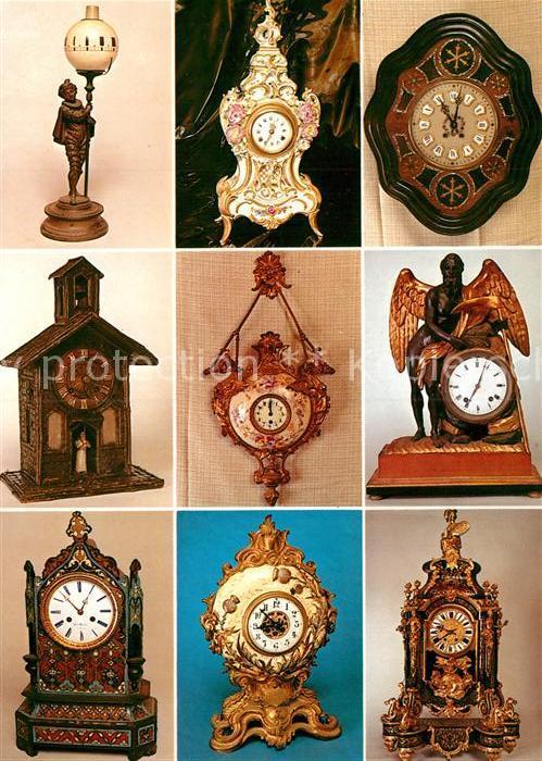 AK / Ansichtskarte Uhren Restaurant Schorsch Erlenbach Fuerth Uhren