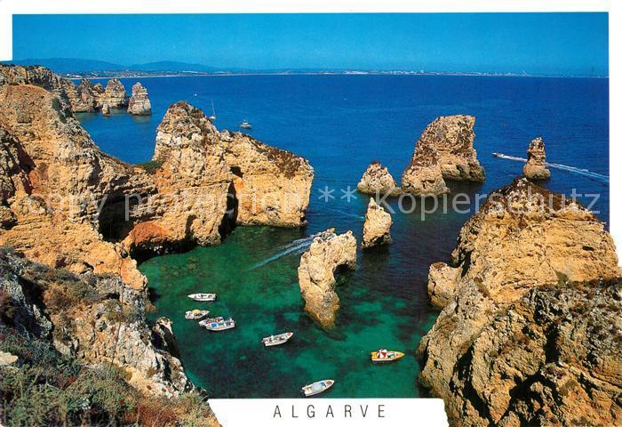 AK / Ansichtskarte Lagos_Algarve Ponta da Piedade