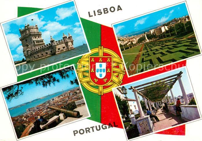AK / Ansichtskarte Lisboa  Lisboa