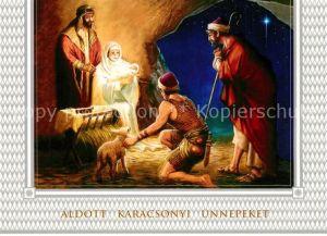 AK / Ansichtskarte Weihnachten Heilige Familie Christkind Weihnachten