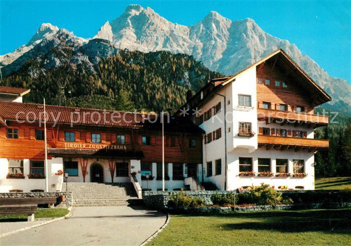 AK / Ansichtskarte Zugspitze Talstation der oesterr Zugspitzbahn Zugspitze