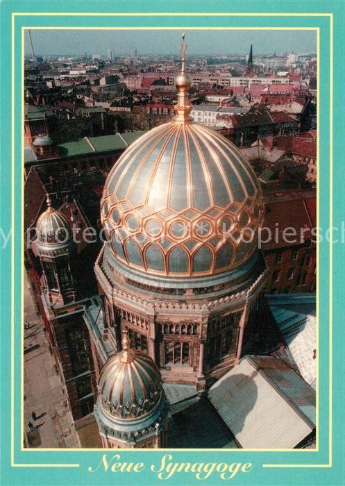AK / Ansichtskarte Synagoge Berlin  Synagoge