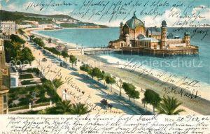 AK / Ansichtskarte Nice_Alpes_Maritimes Jetee Promenade et Promenade du midi Nice_Alpes_Maritimes
