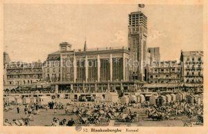 AK / Ansichtskarte Blankenberghe Kursaal Strand Blankenberghe