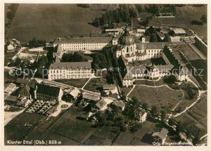 AK / Ansichtskarte Ettal Kloster Ettal Fliegeraufnahme Ettal