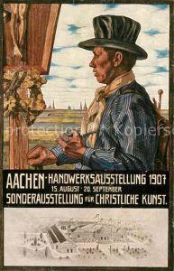 AK / Ansichtskarte Aachen Handwerksausstellung Christiliche Kunst Aachen