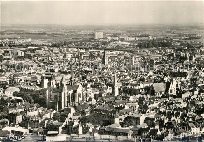 AK / Ansichtskarte Dijon_Cote_d_Or Vue panoramique aerienne Dijon_Cote_d_Or