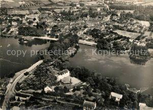 AK / Ansichtskarte Suce sur Erdre Avenue du Pont sur l'Erdre et vue generale aerienne Suce sur Erdre