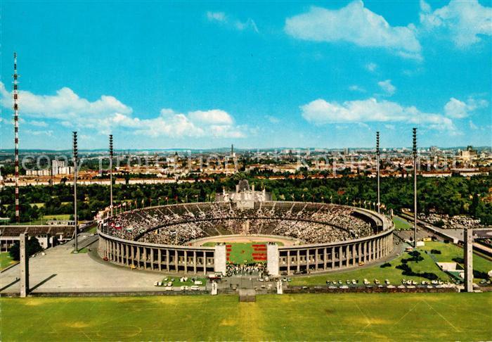 AK / Ansichtskarte Stadion Olympiastadion Berlin  Stadion