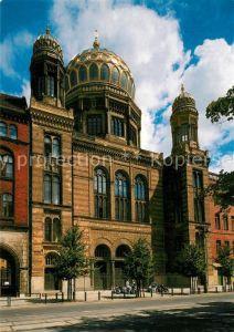 AK / Ansichtskarte Synagoge Berlin Oranienburger Strasse  Synagoge