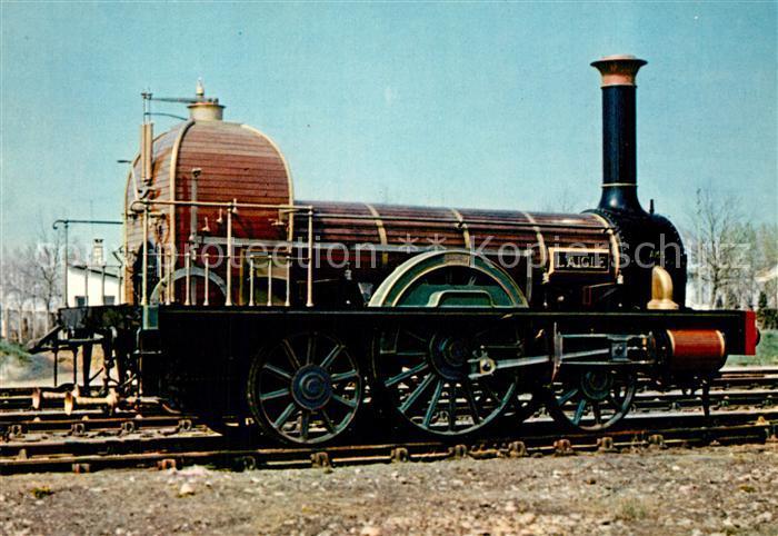 AK / Ansichtskarte Lokomotive Stephenson Nr. 6 L Aigle  Lokomotive