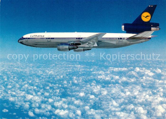 AK / Ansichtskarte Lufthansa McDonnell Douglas DC 10 Lufthansa