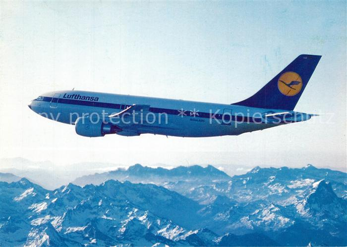 AK / Ansichtskarte Lufthansa Airbus A310 Lufthansa
