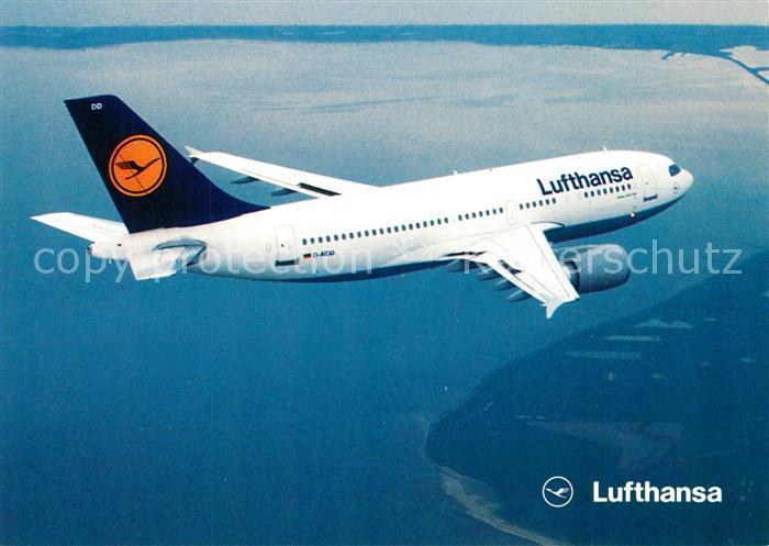 AK / Ansichtskarte Lufthansa Airbus A310 300 Lufthansa