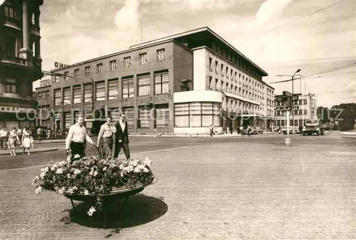 AK / Ansichtskarte Pardubice_Pardubitz Tlida Miru Hotelu Grand Pardubice Pardubitz
