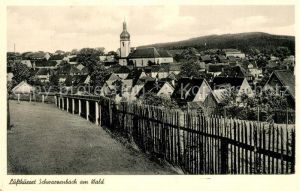 AK / Ansichtskarte Schwarzenbach_Wald Ortsansicht Schwarzenbach Wald