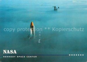 AK / Ansichtskarte Raumfahrt NASA Kennedy Space Center Fog on Launch Pad  Raumfahrt