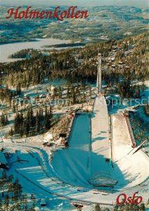 AK / Ansichtskarte Ski Flugschanze Holmenkollen Oslo Ski Flugschanze