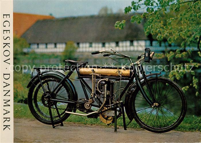 AK / Ansichtskarte Fahrrad Egeskov Danmark Danica 1901 Fahrrad