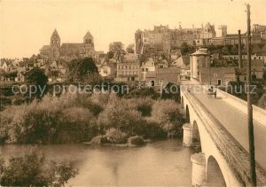 AK / Ansichtskarte Saint Aignan_Loir et Cher Pont sur le Cher  Saint Aignan Loir et Cher