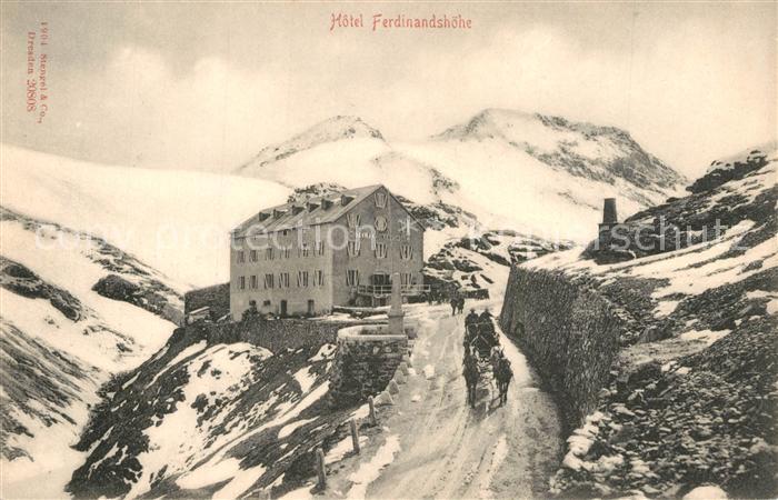 AK / Ansichtskarte Usti_nad_Labem Berghotel Ferdinandshoehe Usti_nad_Labem