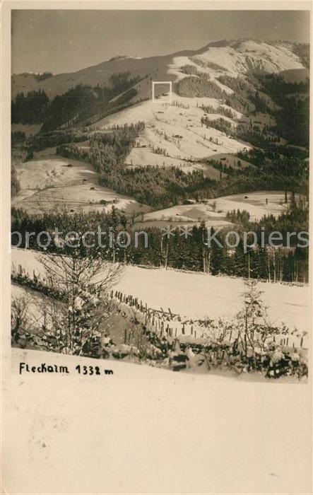 AK / Ansichtskarte Kirchberg_Tirol Fleckalm Winterpanorama Kirchberg Tirol