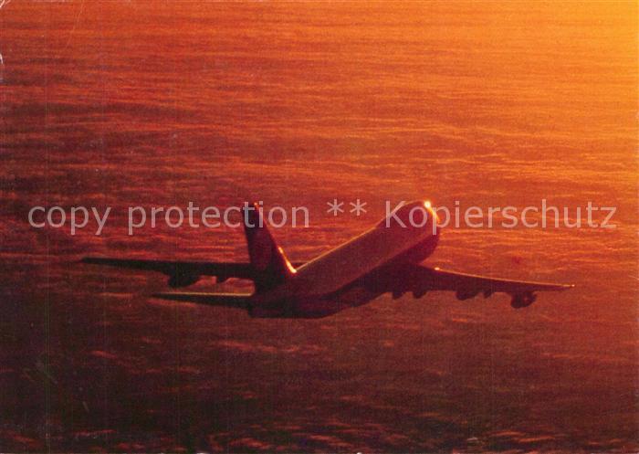 AK / Ansichtskarte Lufthansa Boeing 747 Lufthansa