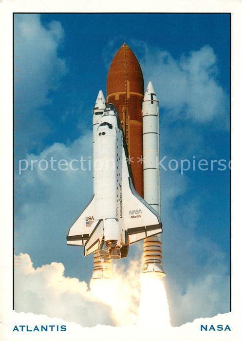 AK / Ansichtskarte Raumfahrt NASA Kennedy Space Center Shuttle Atlantis  Raumfahrt
