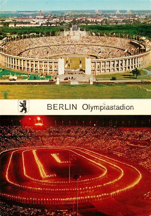 AK / Ansichtskarte Stadion Berlin Olympiastadion  Stadion