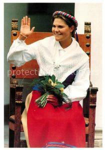 AK / Ansichtskarte Adel_Schweden Kronprinsessan Victoria  Adel Schweden