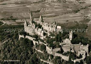 AK / Ansichtskarte Hohenzollern Fliegeraufnahme Burg Hohenzollern