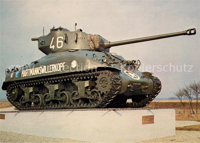 AK / Ansichtskarte Militaria_Panzer Hartmannswillerkopf Marckolsheim Memorial de la Ligne Maginot Militaria Panzer