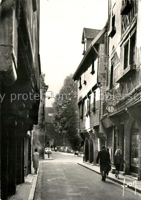 AK / Ansichtskarte Dijon_Cote_d_Or La Rue Verrerie Dijon_Cote_d_Or