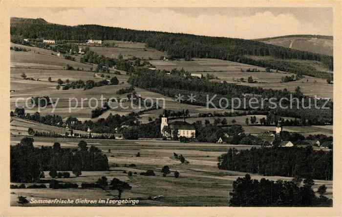 AK / Ansichtskarte Giehren_Isergebirge  Giehren Isergebirge