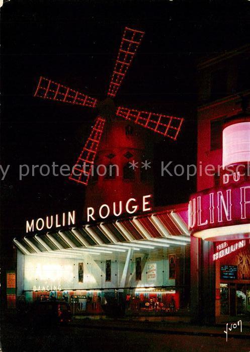 AK / Ansichtskarte Paris Le Moulin Rouge Paris