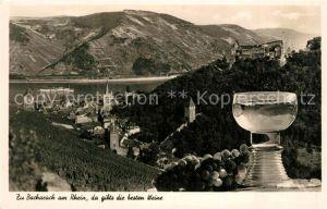 AK / Ansichtskarte Wein Bacharach  Wein