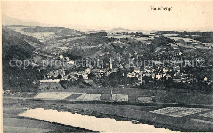 AK / Ansichtskarte Hausberge  Hausberge