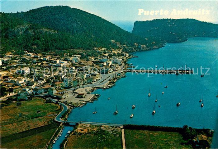 AK / Ansichtskarte Andraitx Vista aerea del Puerto Andraitx